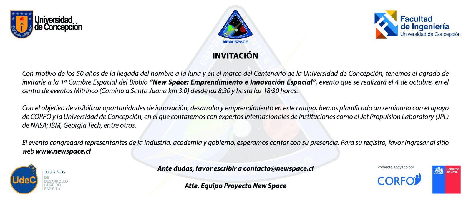 Invitación New Space