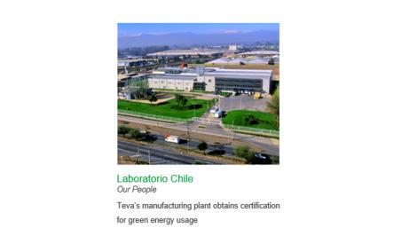 Laboratorio Chile recibe Sello Verde IE de energía 100% renovable