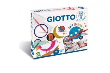 SET GIOTTO EASY DRAWING 68 PIEZAS + LIBRO CREATIVO