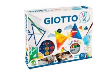 SET GIOTTO EASY PAINTING 82 PIEZAS + LIBRO CREATIVO
