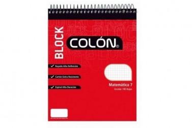 BLOCK COLON BE-32/80 HJS.ESC.7MM