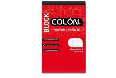 BLOCK COLON BU-32/80HJS.UNIV.7MM