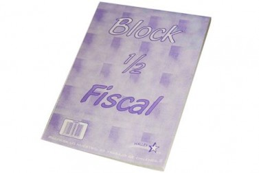 BLOCK FISCAL HALLEY 7MM 80HJS RONEO OF.