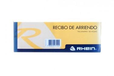 BLOCK RHEIN RECIBO DE ARRIENDO