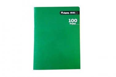 CUADERNO TORRE COLLEGE CROQUIS  100 HJS.LISO