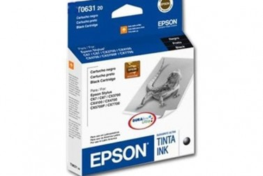 CARTRIDGE EPSON TO63120 C-87 NEGRA