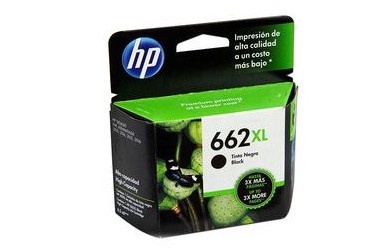 CARTRIDGE HP 662 XL NEGRO