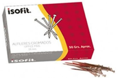 ALFILERES ISOFIT 28MM X 50 GRS. 12241-6