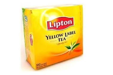 TE LIPTON YELLOW LABEL EN BOLSITAS 100