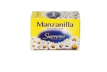 TE SUPREMO MANZANILLA 20 BOLSITAS