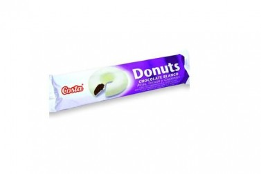 GALLETAS COSTA DONUTS CHOCOL.BCO 100GR