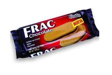 GALLETAS COSTA FRAC CHOCOLATE  130 GRS
